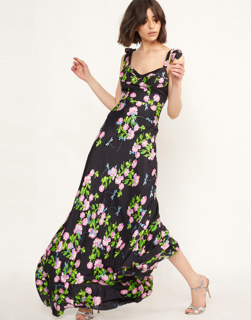 Ten Rose Maxi Dress