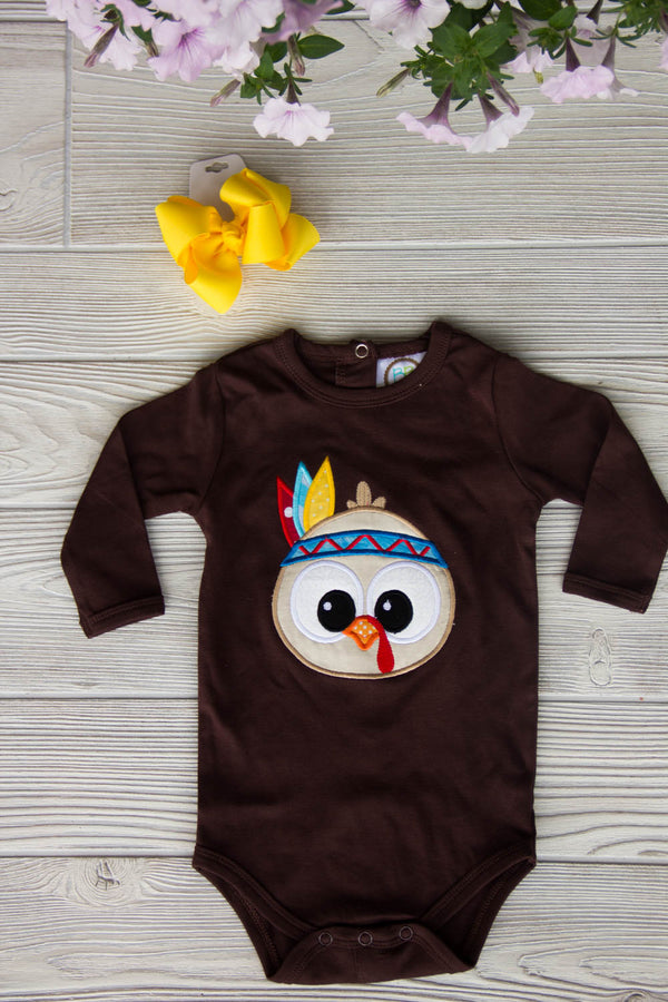 Little Turkey - Baby Thanksgiving Outfit