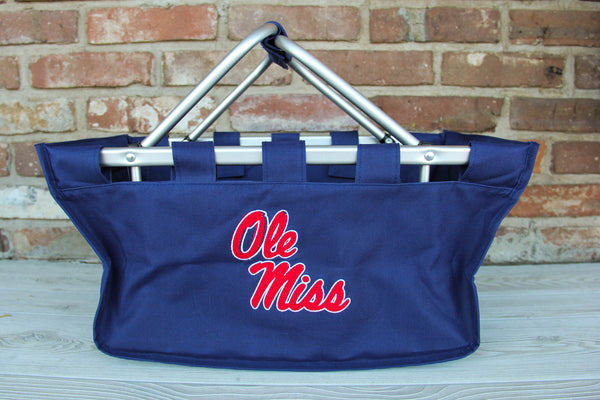 Ole Miss Tote with Monogram