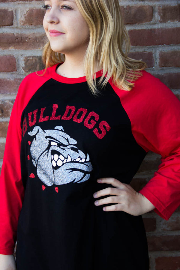 Sikeston Bulldogs Quarter Length Tee