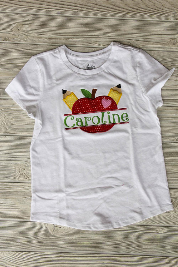 Apple School Shirt w/Name