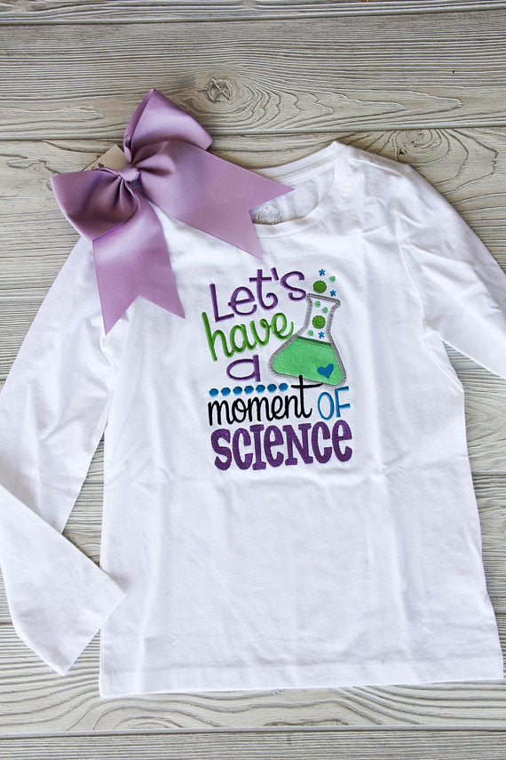 Let's Have a Moment of Science School Tee