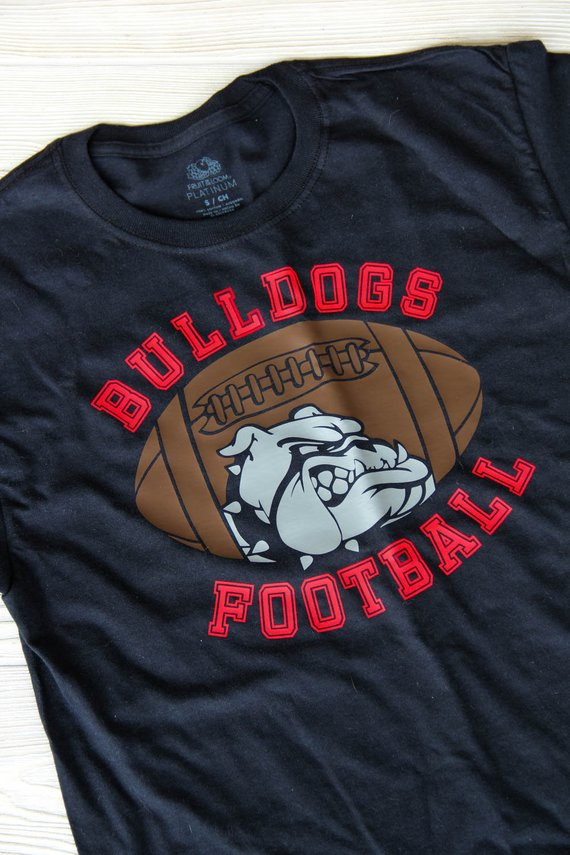 Football Tee Shirt | BULLDOGS