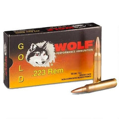 Wolf Gold .223 Rem FMJ 55 Grain 20 Rounds