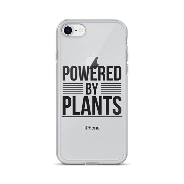 Powered By Plants iPhone Case