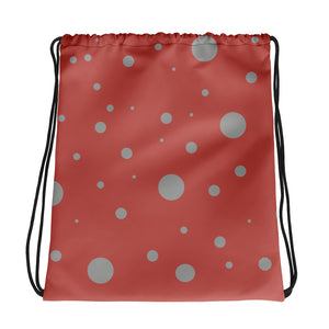 Spotted Drawstring bag