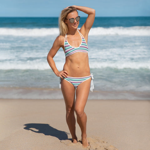 Sexy Striped Bikini