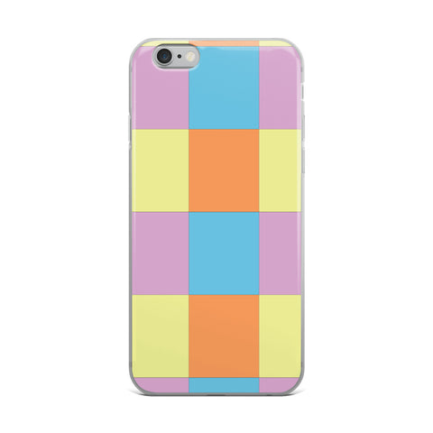Checked iPhone Case