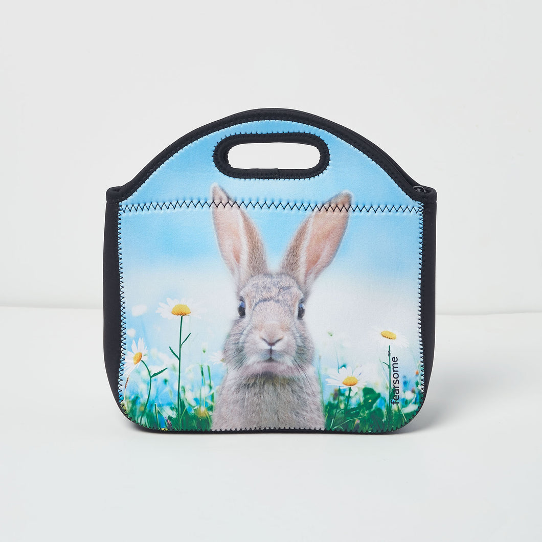 Into The Wild Lunch Bag - Flower Bunny