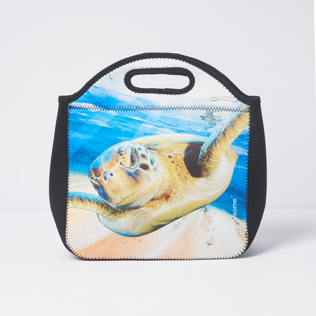 Into The Wild Lunch Bag - Turtle