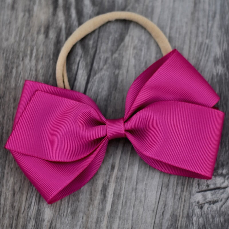 Lucy Grosgrain Ribbon Bow