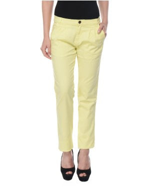 United Colors Of Benetton Yellow Trouser