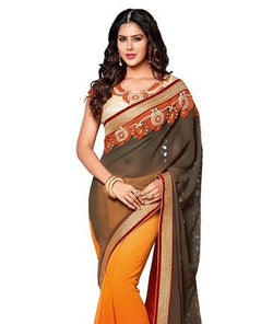 Georgette Saree with Blouse