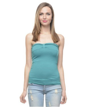 Alcott Green Tube Top