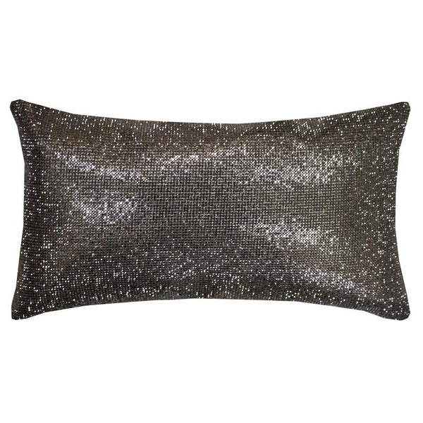 Kylie Minogue Aurora Filled Boudoir Cushion Pewter