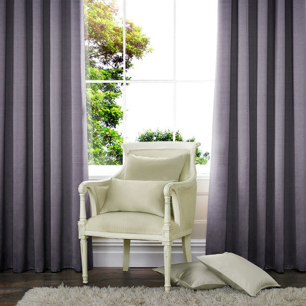 Raphia Made to Measure Curtains Flint