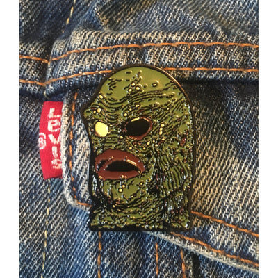 Creature Mask Pin