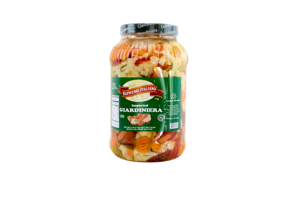 Giardinera (Hot Pickled Vegetables) 4/1 Gal