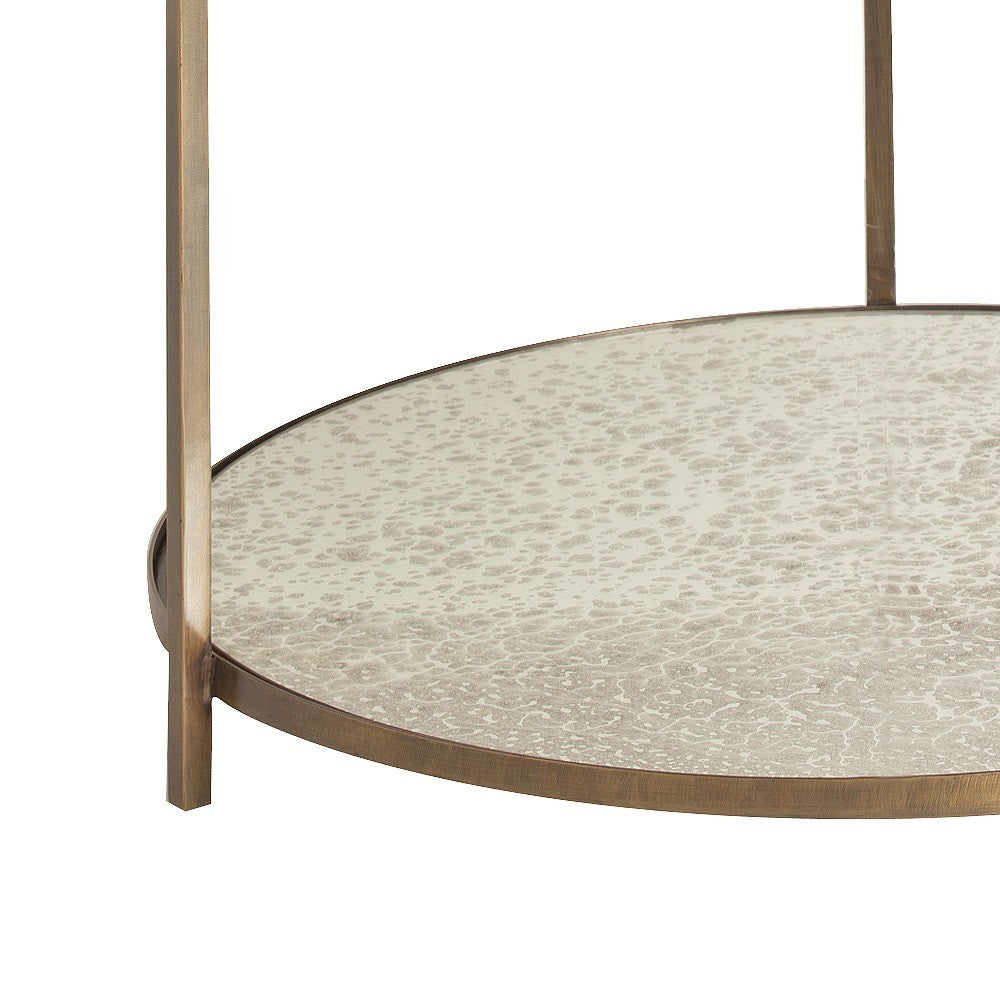 arteriors home percy side table bottom