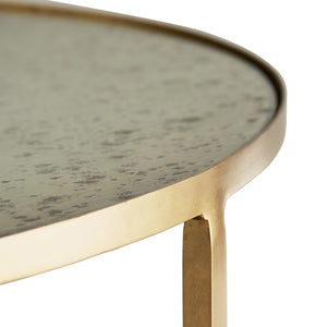 arteriors home percy side table top