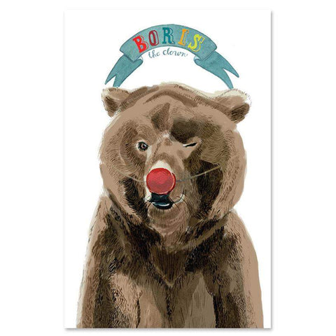 OEUF ANIMAL POSTER - Bear-Oeuf LLC