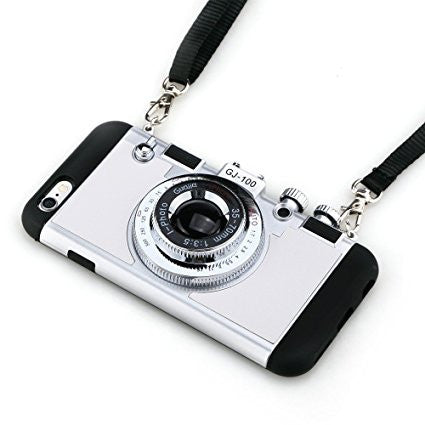 Photo Camera Case For iPhones