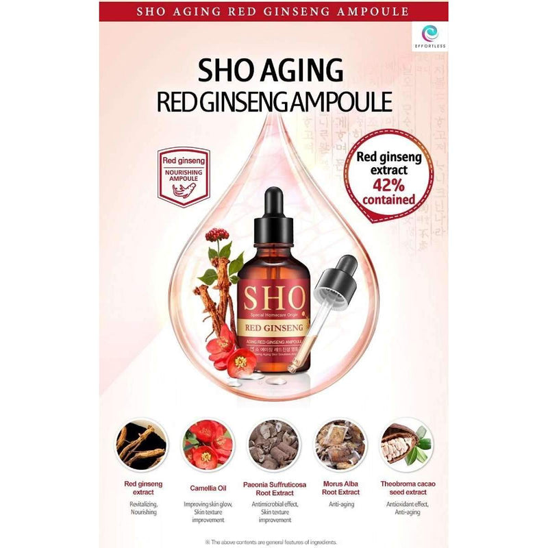 Korean Special Homecare Origins Skincare Ampoule (50ml) - Effortless