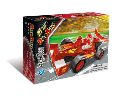 Red racing car 8788