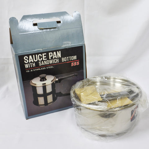 Sauce Pan with Sandwich Bottom (Chinatown)