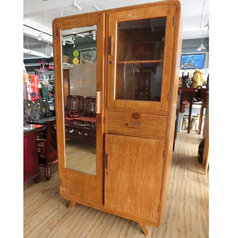 ONLY AVAILABLE AT OUR KALLANG BAHRU OUTLET - WOOD CABINET/WARDROBE