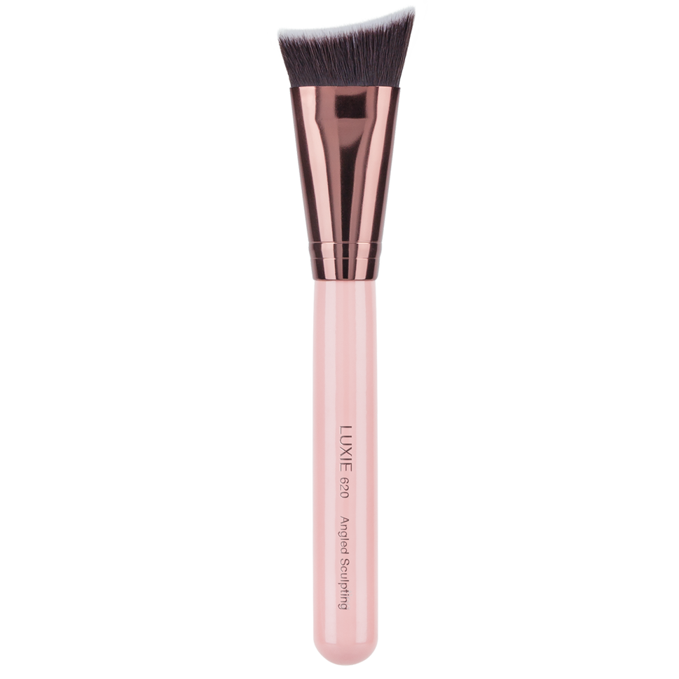 Luxie 620 Angled Sculpting Rose Gold - luxiebeauty