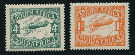 SA 1941-2 WAR EFFORT  MNH