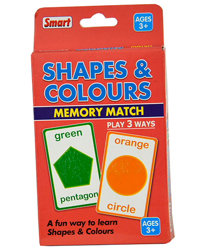 01146 Shapes & Colours Memory Match