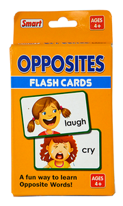 01148 Opposites Flash Cards