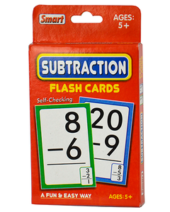 01156 Subtraction Flash Cards