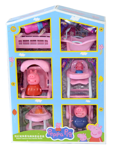 850825 Peppa Pig Family Play Set