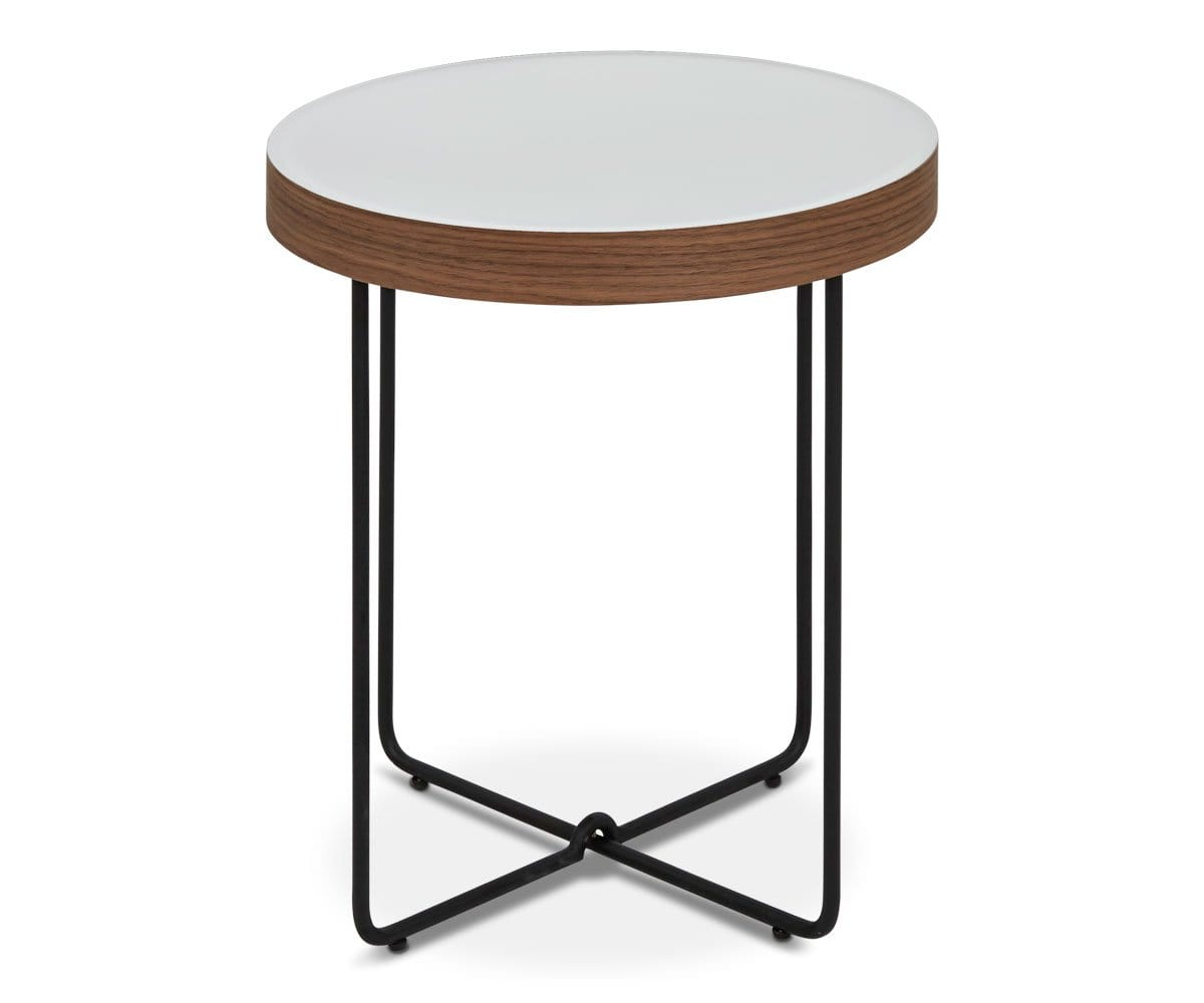 Pavlo End Table - White