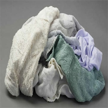 Color Turkish Terry Towels - 50 LB Box