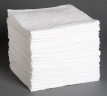 P200: Oil Only Sorbent Pads - Heavy Weight