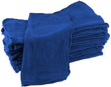 Blue Shop Towels - 100 Pieces