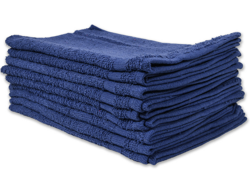 Cotton Terry Towels 16x27 Blue