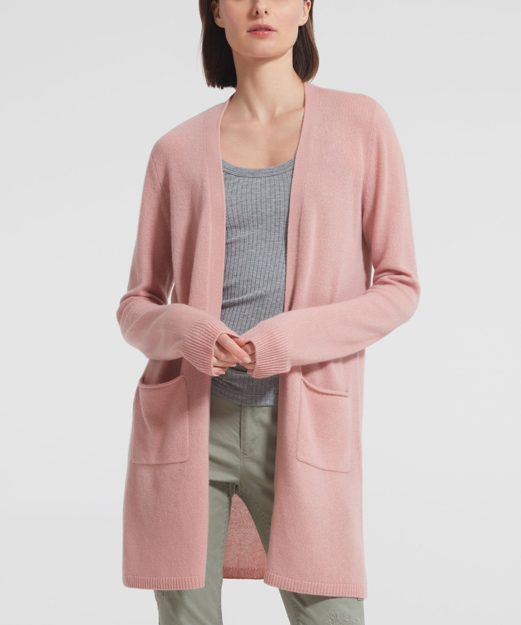Clay Cashmere Cardigan - Women's Luxe Sweater by ATM Anthony Thomas Melillo
