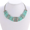 NA Multi Strand Turquoise Necklace