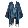 NA Diamond Pattern Poncho