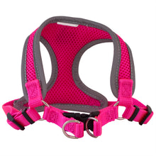 Coastal Pet pink dog harness view of buckles