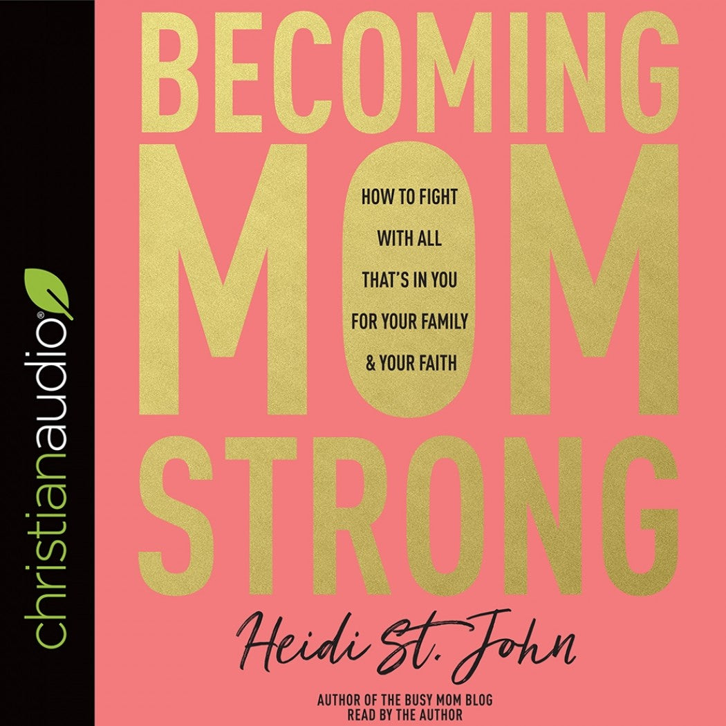 Becoming MomStrong, Audio Version