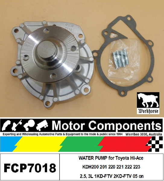 WATER PUMP FCP7016 for Nissan Navara  D22 3.3L V6 VG33E 2003-08