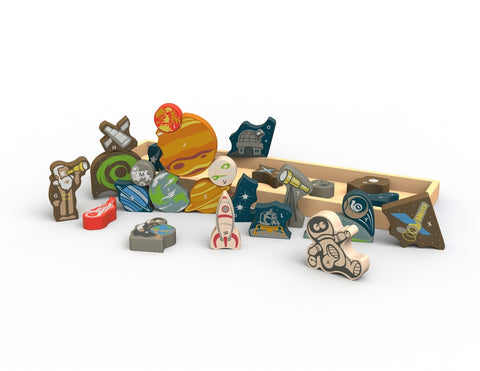 Begin Again Space A to Z Puzzle and Playset