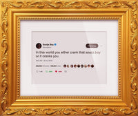 "Soulja Boy - ""In This World""-Framed Tweets"