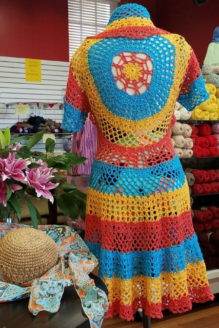 Crochet - Carribean Cover-Up